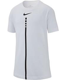 57c8e9fbe84d Nike Big Boys Dri-FIT Graphic-Print T-Shirt