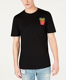 Men's French Fries Graphic T-Shirt, Created for Macy's
