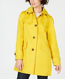 London Fog Hooded Raincoat