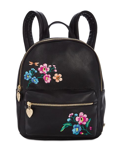 Betsey Johnson Embroidery Backpack