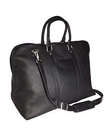 Royce Luxury Travel Duffel Carryon Bag in Colombian Genuine Leather