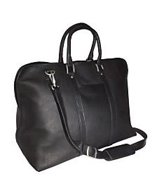 Royce Luxury Travel Duffel Carryon Bag in Colombian Genuine Leather