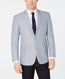Kenneth Cole Reaction Men's Slim-Fit Blue/White Tic Sport Coat