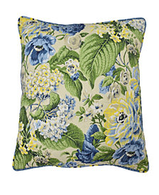 Floral Flourish 20x20 Decorative Pillow