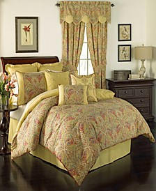 Swept Away 4 Piece Queen Comforter Set
