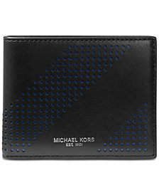 Michael Kors Men's Perforated Leather Billfold