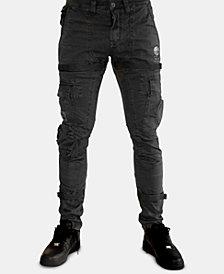 Heritage America Men's Slim-Fit Stay-Put Cargo Pants