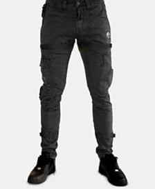 Heritage America Men s Slim-Fit Stay-Put Cargo Pants e2990cbd1