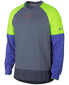 Nike Men's Element Colorblocked Running Top