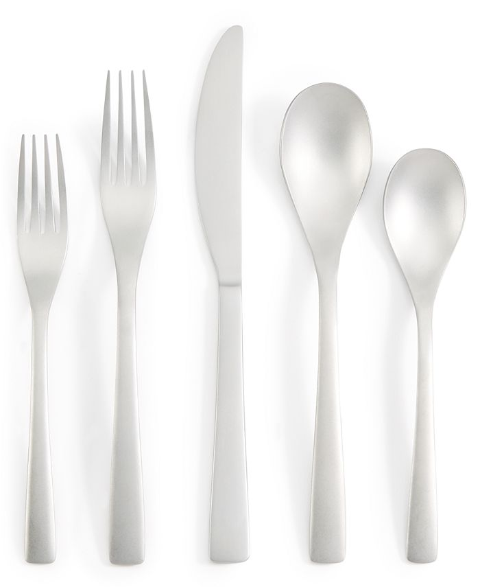 Hotel Collection - Sand 20-Pc. Flatware Set, Service for 4