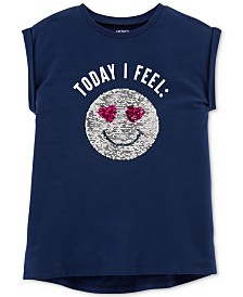 Carter's Toddler Girls Today I Feel Cotton T-Shirt