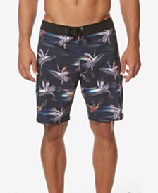 "O'Neill Men's Hyperfreak Printed 19"" Board Shorts"