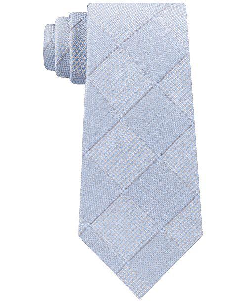 Kenneth Cole Reaction Men's Texture Grid Slim Tie