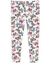 608ce2d9adfc5 Epic Threads Toddler Girls Butterfly-Print Leggings, Created for Macy's