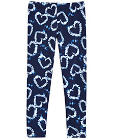 Epic Threads Little Girls Heart-Print Leggings, Created for Macy's