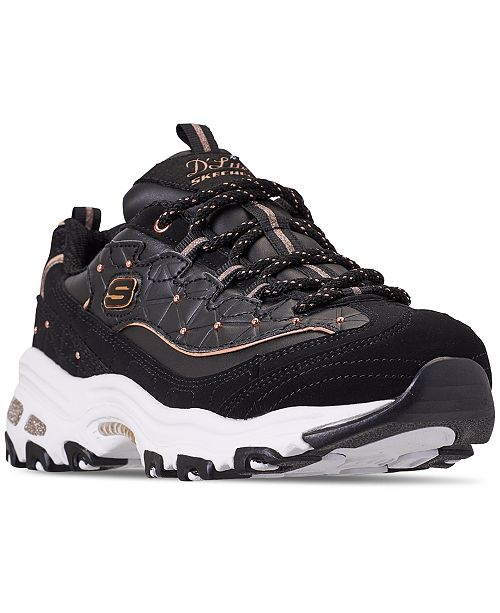 c3875498547ab ... Skechers Women s D Lites - Glamour Feels Walking Sneakers from Finish  ...
