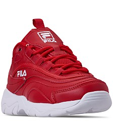 Fila Boys' Ray Casual Athletic Sneakers from Finish Line