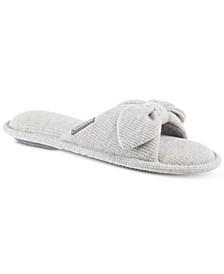Women's Waffle Knit Dani Slide Slippers