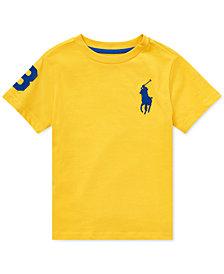 Polo Ralph Lauren Little Boys Big Pony Cotton T-Shirt