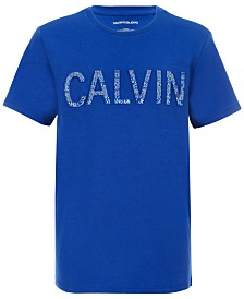 Calvin Klein Big Boys Logo Graphic T-Shirt