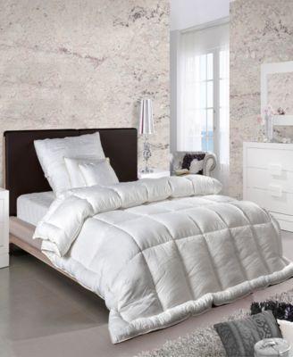 Luxury European Goose Down & Feather Queen Comforter