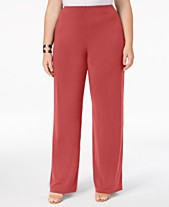 1b200b648dd Buy Plus Size Wide Leg Pants  Shop Buy Plus Size Wide Leg Pants - Macy s