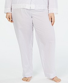 Plus-Size Long Pajama Pants