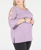 8a2389f6b1d Plus Size Dressy Tops  Shop Plus Size Dressy Tops - Macy s