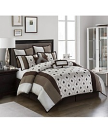 Grayson Reversible 8-Piece Queen Comforter Set