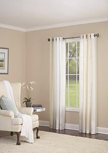 "Grovegat Grommet Single Curtain Panel, Gold, 54 x 84"""