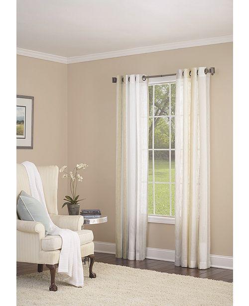 "Nanshing Grovegat Grommet Single Curtain Panel, Gold, 54 x 84"""