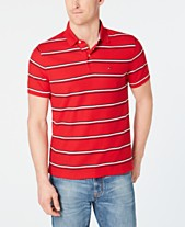 c09b663971631 Tommy Hilfiger Men s Marcus Striped Polo
