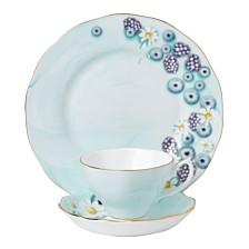 Royal Albert Alpha Foodie Turquoise 3-Piece Set