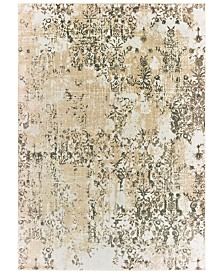 "Oriental Weavers Bowen 2067W Gray/Gold 9'10"" x 12'10"" Area Rug"