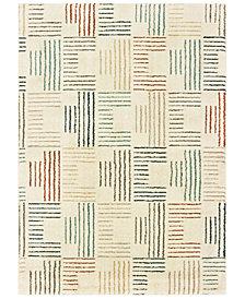 "Oriental Weavers Carson 9663A Ivory/Multi 2'3"" x 7'6"" Runner Area Rug"