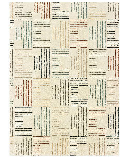 "Oriental Weavers Carson 9663A Ivory/Multi 5'3"" x 7'3"" Area Rug"