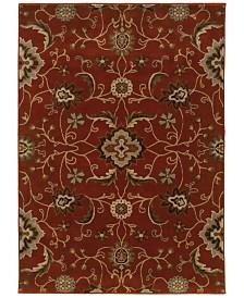 "CLOSEOUT! Oriental Weavers  Casablanca 4471B Red/Multi 7'10"" x 10'10"" Area Rug"