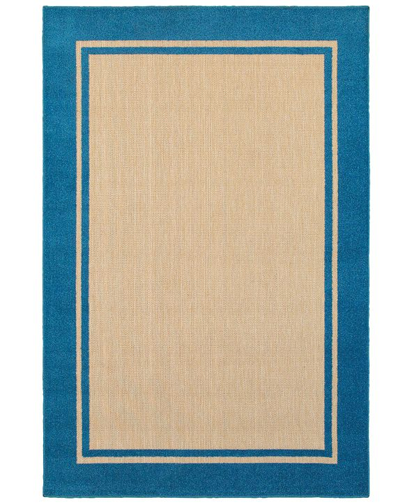 "Oriental Weavers Cayman 5594 1'10"" x 3'3"" Indoor/Outdoor Area Rug"