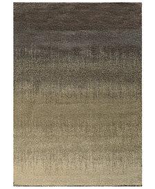 "Oriental Weavers Covington Shag 002J6 Gray/Beige 3'3"" x 5'5"" Area Rug"