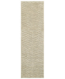 """Oriental Weavers Elisa 560W3 Sand/Beige 2'3"""" x 7'6"""" Runner Area Rug"""