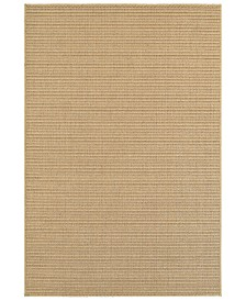 "CLOSEOUT! Oriental Weavers  Santa Rosa 501D6 Sand/Tan 3'3"" x 5' Indoor/Outdoor Area Rug"