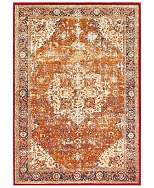 "Surya Serapi SRP-1019 Bright Orange 3'11"" x 5'7"" Area Rug"