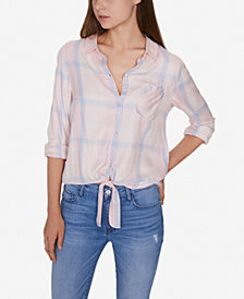 Sanctuary Hayley Tie-Front Shirt