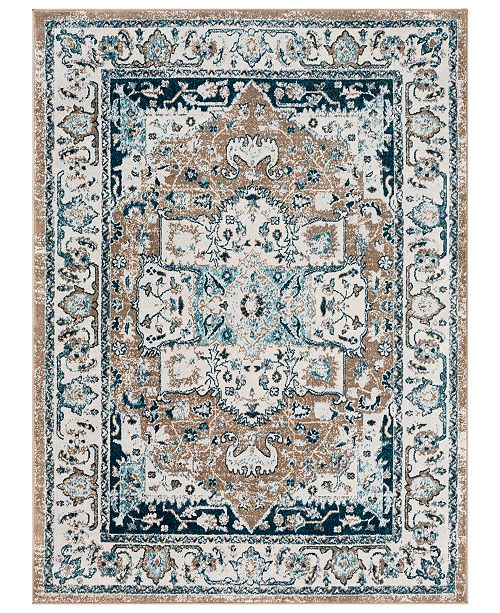 "Surya Varanasi VAR-2306 Pale Blue 7'10"" x 10'3"" Area Rug"