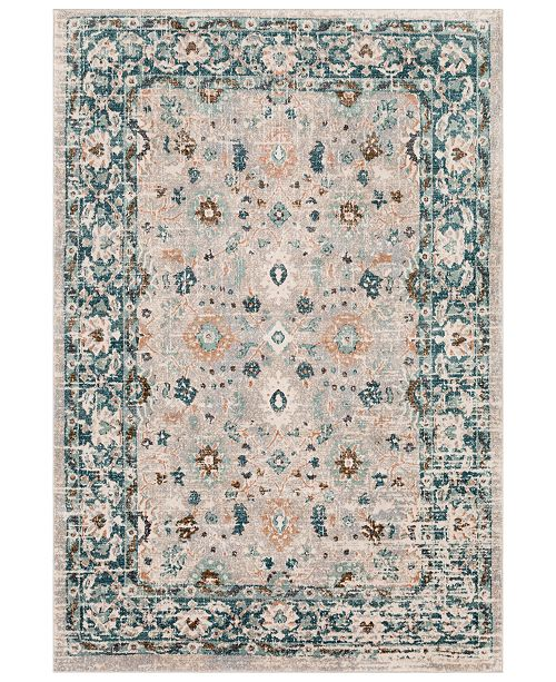 Surya Soft Touch SFT-2304 Teal 2' x 3' Area Rug