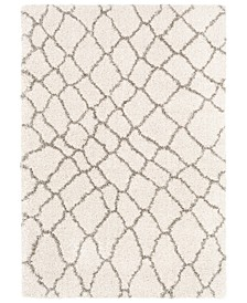 "Serengeti Shag SGT-2313 Dark Brown 9'3"" x 12'3"" Area Rug"