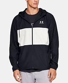 Under Armour Men's Sportstyle Colorblocked Hooded Windbreaker