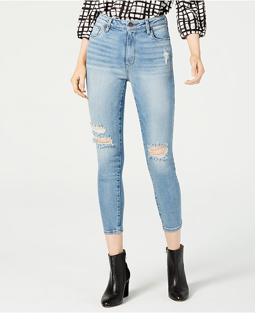 STS Blue Brie High-Rise Distressed Skinny Jeans