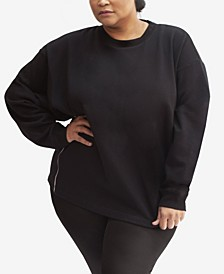 Vigil Reflective Plus Pullover Crew-Neck Sweater
