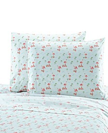 Flamingo Standard Pillowcase Pair